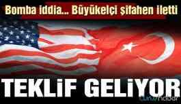 Son dakika… Bomba iddia: ABD Türkiye'ye yeni bir teklif sunacak