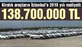 Son dakika… İşte Yenikapı'daki kiralık araçların İstanbul'a 2019 yılı maliyeti
