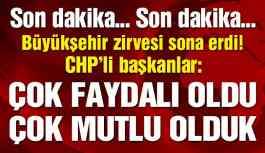 Son dakika… Saray'daki davete katılan CHP'lilerden açıklama