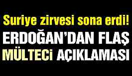 Son dakika… Ankara'daki üçlü Suriye zirvesi sona erdi!