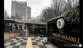 Dışişleri Bakanlığı: ABD Büyükelçiliği Maslahatgüzarı bakanlığa çağrıldı