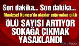 Komşu'da olaylar çığırından çıktı! Türkiye'den uyarı geldi!