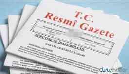 Tezkere kararları Resmi Gazete'de yayımlandı