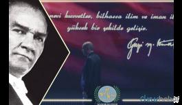 AKP'li belediye Atatürk'ü 'Erdoğan' fotoğrafıyla andı