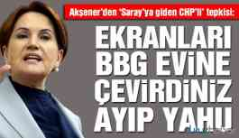 Akşener'den 'Saray'a giden CHP'li iddiasına ilk yorum