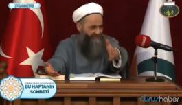 Cübbeli Ahmet'ten şaşırtan açıklama: Sana zebaniler bir kayacak ama…