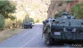Dersim'de askeri operasyon başlatıldı