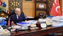 Bahçeli'den 'Saray'a giden CHP'li tartışmaları hakkında açıklama