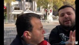 Erdoğan-Trump görüşmesi için Washington'da bulunan TRT muhabirine saldırı