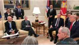 Erdoğan'dan ABD'li senatörlerin Kürtlerle ilgili sorularına tepki
