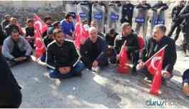 Hasankeyf'te konut mağdurları gözaltına alındı