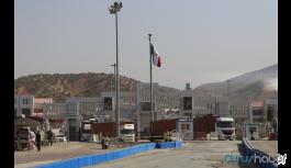Irak sınır kapılarını yaya geçişine...