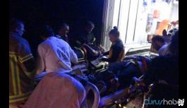 İşçi servisi şarampole yuvarlandı: 24 kişi yaralandı