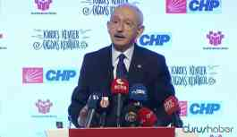 Kılıçdaroğlu: Onlar adalet kavramının ne olduğunu unuttular