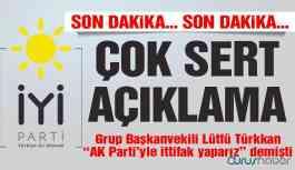 """""""AK Parti ile ittifak yaparız"""" demişti! Sert açıklama geldi"""