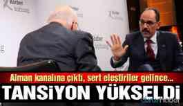 Video | Alman gazeteciden İbrahim Kalın'ı terleten HDP sorusu