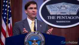 ABD Savunma Bakanı Esper'den İncirlik yanıtı