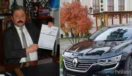 AKP'den kalan borçları ödemek için makam aracını satışa çıkardı