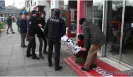 AKP önündeki eyleme müdahale