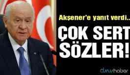 Bahçeli'den Akşener'e çok sert 'yeni parti' tepkisi!