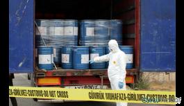 Sınırda 18,4 ton siyanür ele geçirildi