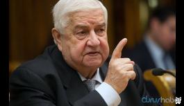Suriyeli Bakan Muallim: Türkiye, ABD ve İsrail'in komplosuyla karşı karşıyayız