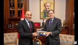ABD Ankara Büyükelçisi Satterfield Tunç Soyer'i ziyaret etti