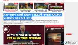 'AKP'den yeni yasa teklifi' haberi sosyal medyada gündemde: 'Evde kalma vergisi getiriliyor!'