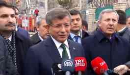 Ahmet Davutoğlu: Deprem için toplanan her kuruş deprem için harcanmalı