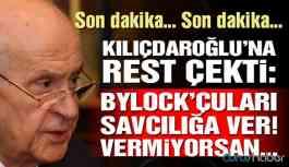 Devlet Bahçeli'den Kılıçdaroğlu'na FETÖ ve Bylock resti