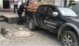 HDP'li Belediyenin yardım araçları ikinci kez engellendi