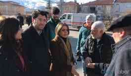 HDP Elazığ heyeti: 60 köye yardım ulaşmamış