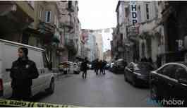 HDP binası önünde havaya ateş açılmıştı! İşte saldırının çarpıcı detayları...