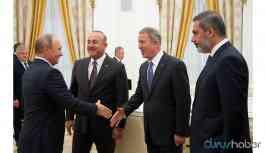 Milli Savunma Bakanı, Dışişleri Bakanı ve MİT Başkanı Rusya'ya gidiyor