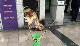 Kahreden olay! Evsiz vatandaş donarak hayatını kaybetti