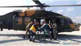 Mardin kırsalında patlama! 1 asker yaralandı