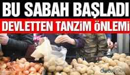 Patates ve soğanın yurt dışına satışına kısıtlama!