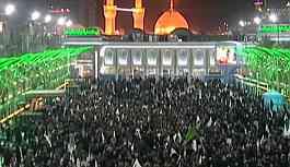 Süleymani'nin Kerbela'daki cenaze törenine binlerce kişi katıldı!