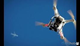 Jandarma alanını gözetleyen polis dronu düşürüldü