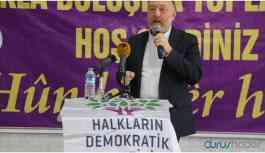 HDP Eş Genel Başkanı Temelli: Adalet için bu iktidar yıkılmalıdır