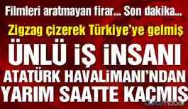 Filmleri aratmayan firar! Ünlü iş adamı Türkiye'den işte böyle kaçmış!