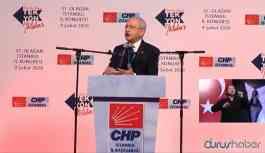 CHP Genel Başkanı Kılıçdaroğlu: Türkiye'yi yeniden inşa edeceğiz
