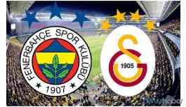 Fenerbahçe-Galatasaray derbisinde 391. karşılaşma