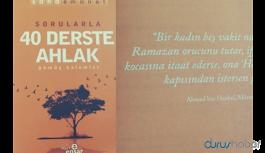 Ensar Vakfı'ndan okullara 'ahlak' kitabı!