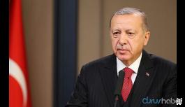 Cumhurbaşkanı Erdoğan'dan 'Ortadoğu Barış Planı' açıklaması