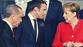 Erdoğan, Macron ve Merkel ile telefonda görüştü