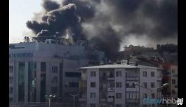 Hastanede yangın: Bina tahliye edildi