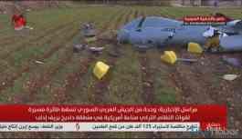 Suriye ordusu İdlib'de TSK'ya ait İHA düşürdü