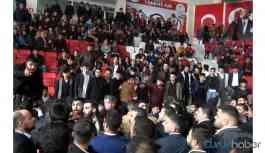 'Ülkücüler' birbirine girdi! Grubu durdurmak için çalınan İstiklal Marşı da kavgayı engelleyemedi