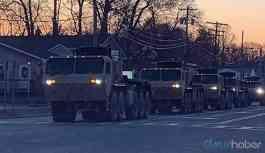 ABD ordusu sokağa indi